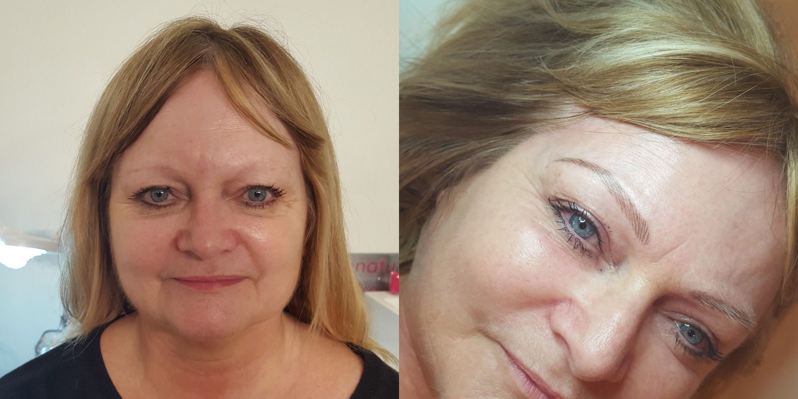 Permanent-Eyebrows-Elaine-Before-After